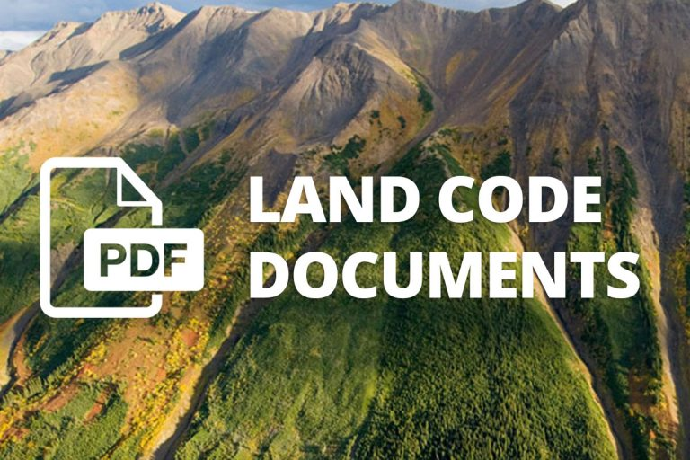 Iskut Band Land Code Development Committee
